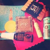 July 2014 Glam Bag