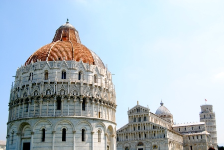 Piazza del Duomo (the Baptistry, Cathedral, and Tower)