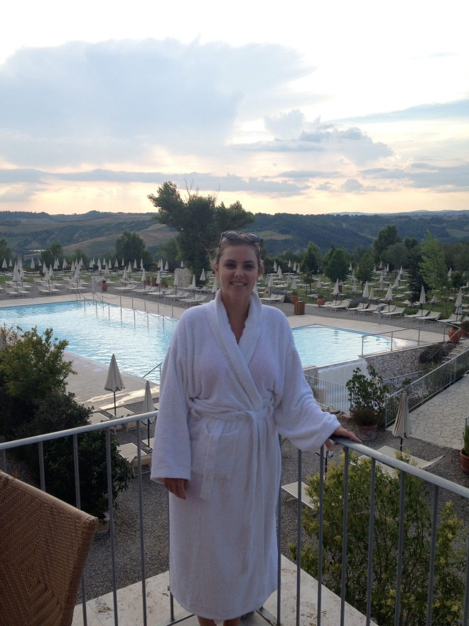 Thermal spa robe