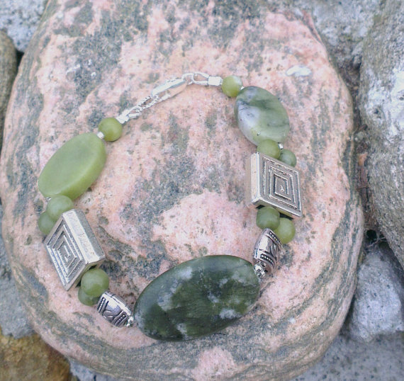 wild atlantic craft green bracelet