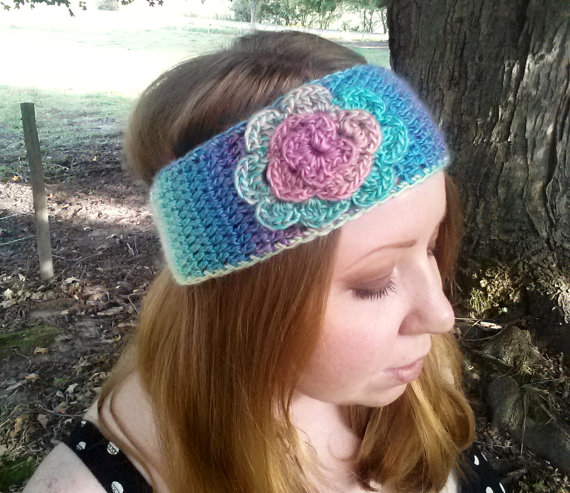 Earwarmer with Flower ($18.95)