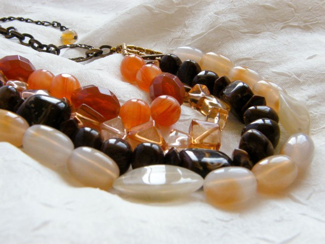 Elegant Earth Colors Beaded Chocker ($34.88)