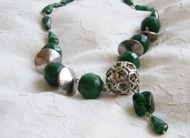 Emerald Green Dream necklace ($46.51)