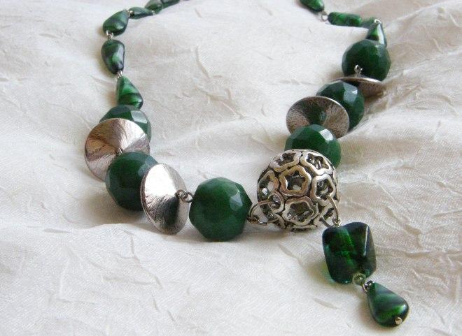 Emerald Green Dream necklace ($46.51)