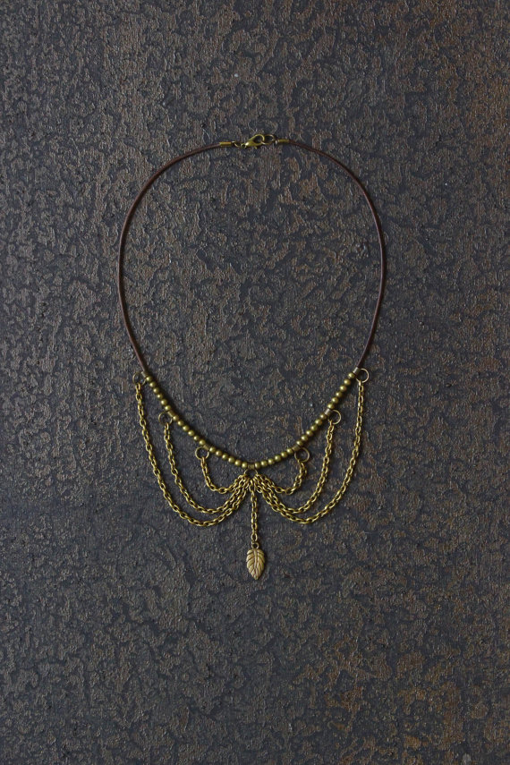 Collar Necklace ($33.50)