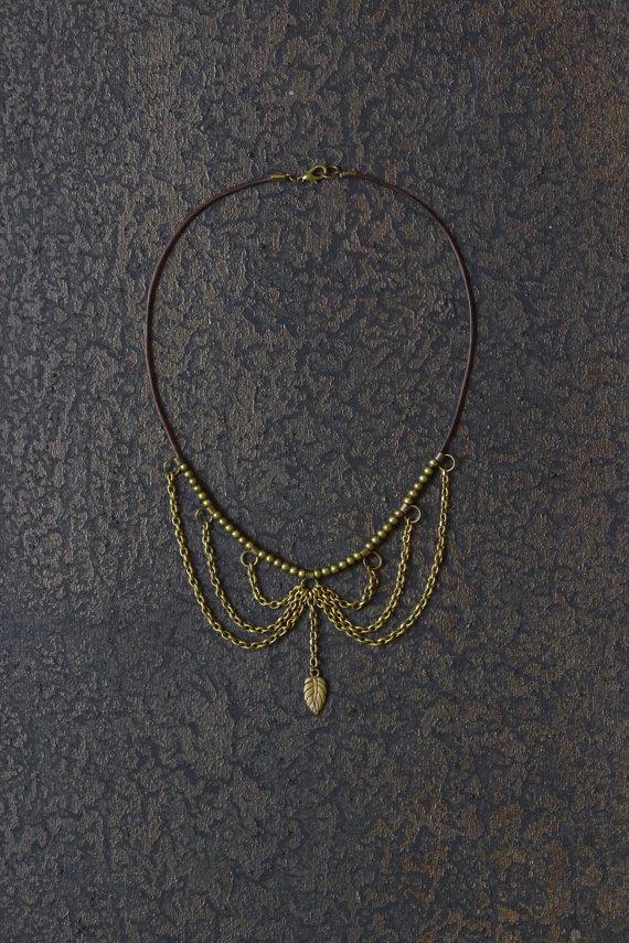 Collar Necklace ($33.50)