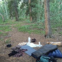 not tent/tarp = no problem