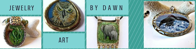 Handmade Monday: Jewelry Art by Dawn