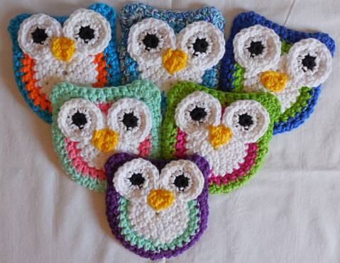 owl scrubbies